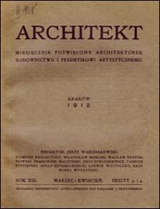 Architekt 1912 z. 3-4