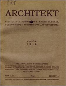 Architekt 1912 z. 5