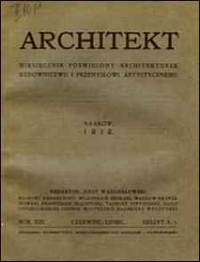 Architekt 1912 z. 6-7
