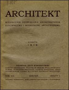 Architekt 1912 z. 8