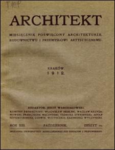 Architekt 1912 z. 10
