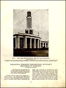 Architektura i Budownictwo 1929 nr 1