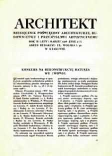 Architekt 1908 z. 2-3