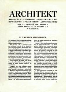 Architekt 1908 z. 4