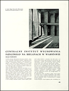 Architektura i Budownictwo 1930 nr 11