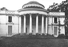 Pałac w Natolinie. Elewacja ogrodowa