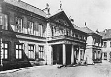 Pałac Potockich w Warszawie. Fasada