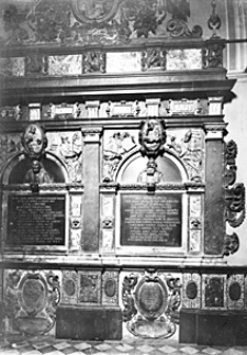 Katedra łacińska we Lwowie. Kaplica Kampianów. Wnętrze.