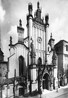 Katedra św. Jana w Warszawie. Fasada