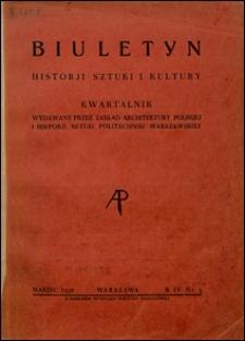 Biuletyn Historji Sztuki i Kultury 1936 nr 3