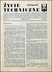 Życie Techniczne 1938 nr 4