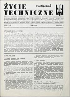 Życie Techniczne 1938 nr 5