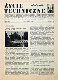 Życie Techniczne 1938 nr 6