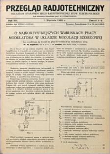 Przegląd Radjotechniczny 1935 nr 1-2