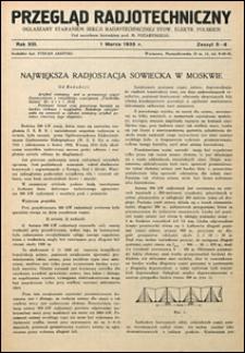 Przegląd Radjotechniczny 1935 nr 5-6