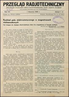 Przegląd Radjotechniczny 1936 nr 1-2