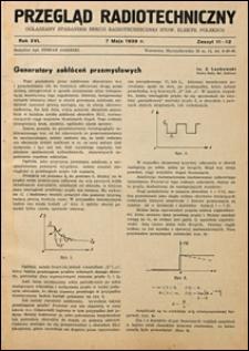Przegląd Radjotechniczny 1938 nr 11-12