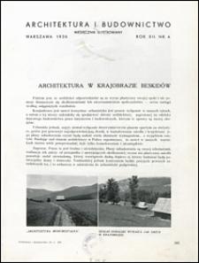 Architektura i Budownictwo 1936 nr 4