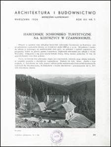 Architektura i Budownictwo 1936 nr 7