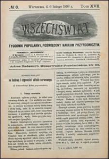 Wszechświat 1898 nr 6