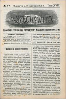 Wszechświat 1898 nr 17