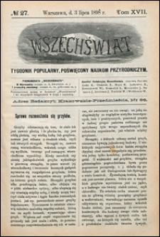Wszechświat 1898 nr 27