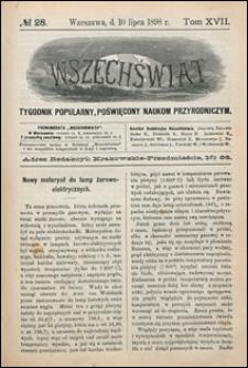 Wszechświat 1898 nr 28