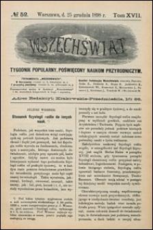 Wszechświat 1898 nr 52