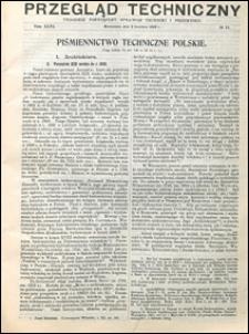 Przegląd Techniczny 1908 nr 14