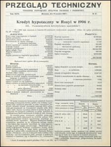 Przegląd Techniczny 1908 nr 37