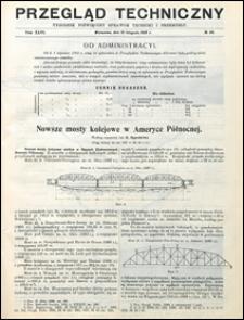 Przegląd Techniczny 1908 nr 46