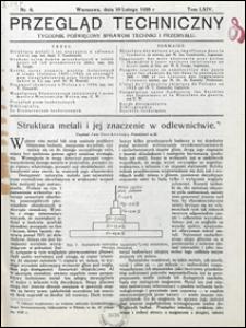 Przegląd Techniczny 1926 nr 6