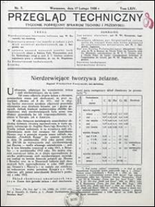 Przegląd Techniczny 1926 nr 7