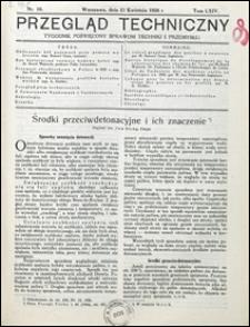 Przegląd Techniczny 1926 nr 16