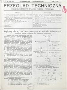 Przegląd Techniczny 1926 nr 29-32