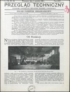 Przegląd Techniczny 1926 nr 33-34