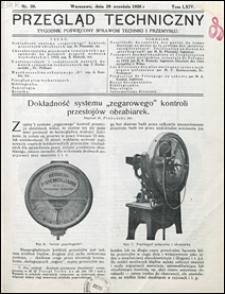 Przegląd Techniczny 1926 nr 39