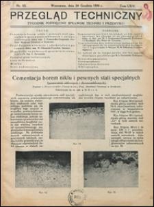 Przegląd Techniczny 1926 nr 52