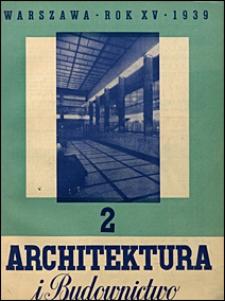Architektura i Budownictwo 1939 nr 2