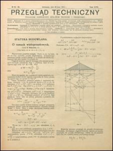 Przegląd Techniczny 1919 nr 25-28