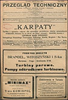 Przegląd Techniczny 1920 nr 8