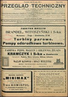 Przegląd Techniczny 1920 nr 19