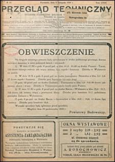 Przegląd Techniczny 1920 nr 45