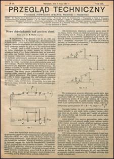Przegląd Techniczny 1921 nr 18