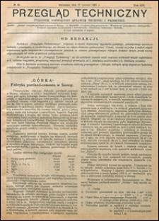 Przegląd Techniczny 1921 nr 25