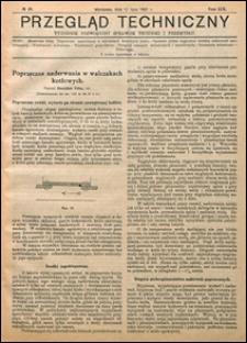 Przegląd Techniczny 1921 nr 28