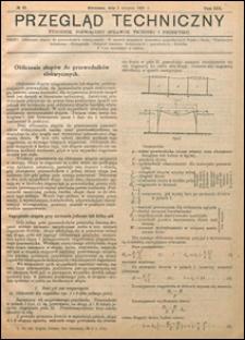 Przegląd Techniczny 1921 nr 31