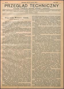 Przegląd Techniczny 1921 nr 35