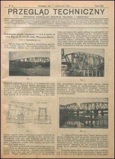 Przegląd Techniczny 1921 nr 41