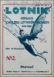 Lotnik 1926 nr 2